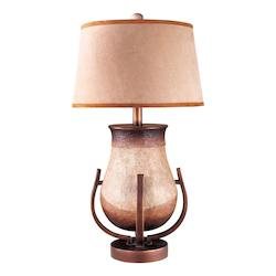 1 Light Table Lamp with Granite Mist Finish - 217022
