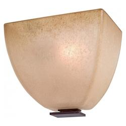 Iron Oxide 1 Light 6.5In. Width Ada Wall Sconce From The Lineage Collection