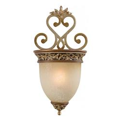 Florence Patina 1 Light 10.75In. Width Wall Sconce From The Salon Grand Collection