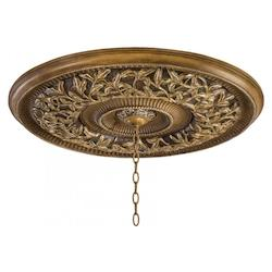 Florence Patina 32-3/4In. Ceiling Medallion From The Salon Grand Collection