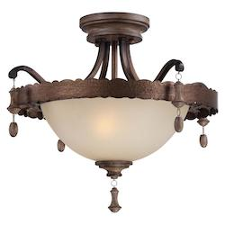 Candlewood Collection 2-Light Semi Flush