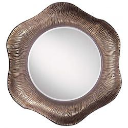 Burnt Clay With Bronze Wash Mirror from the Southwest Collection - 217818