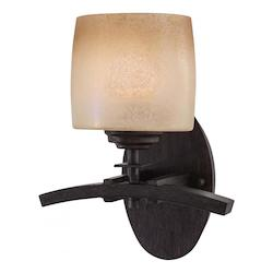 Iron Oxide 1 Light Wall Sconce From The Raiden Collection