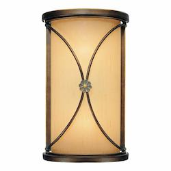Deep Flax Bronze 2 Light Ada Wall Sconce From The Atterbury Collection