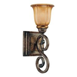 Brompton Bronze 1 Light Bathroom Sconce From The Brompton Collection