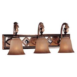 Aston Court Bronze 3 Light Bathroom Vanity Light From The Aston Court Collection
