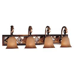 Aston Court Bronze 4 Light Bathroom Vanity Light From The Aston Court Collection