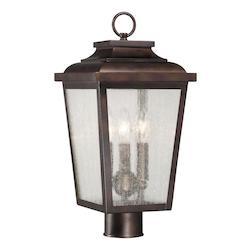 Irvington Manor Collection 3-Light Post Mount