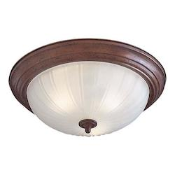 Minka Lavery 3-Light Flush Mount