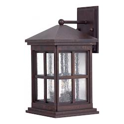 3 Light Bronze Wall Lantern