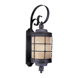 Outdoor Wall Sconce With Iron Finish