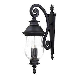 Open Box Newport Aluminum Outdoor Wall Sconce