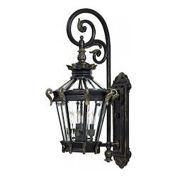 Outdoor Stratford Wall Sconce With Hertiage Finish