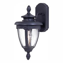 1 Light Outdoor Wall Sconce With Heritage Finish