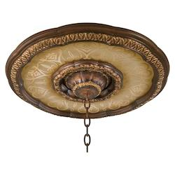 Illuminati Ceiling Medallion With Bronze Finish