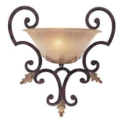 Golden Bronze 1 Light Wall Washer Wall Sconce From The Zaragoza Collection