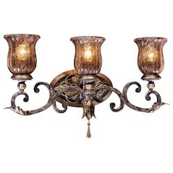 Sanguesa Patina 3 Light 22.5In. Width Bathroom Vanity Light From The Sanguesa Collection