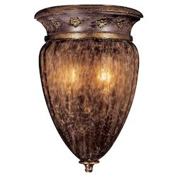 Sanguesa Patina 2 Light Lantern Wall Sconce From The Sanguesa Collection