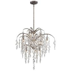 Silver Mist 12 Light Full Sized Pendant From The Bella Flora Collection