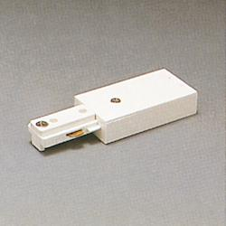 PLC Lighting Track Two-Circuit Accessories - TR2127 WH