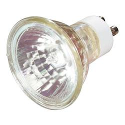 Satco Products Inc. 50 watt halogen; MR16; 2000 average rated hours; GU10 base; 120 volts - S3502