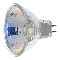 Satco Products Inc. 35 watt halogen; MR16; FMW; 2000 average rated hours; Miniature 2 Pin Round base; 12 volts - S1959