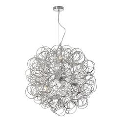 8 Light Pendant with Gold Finish  - 232856