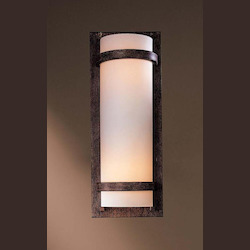 Iron Oxide 2 Light 6.75in. Width ADA Wall Sconce with Fluorescent Lamping - 234883