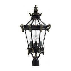 Stratford Hall 4 Light Outdoor Post Lamp