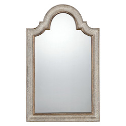 Mirror in Silver with Gold Accents  - Savoy House 4-F259-158