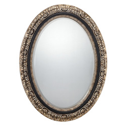Jasmine Mirror in Gold Finish  - Savoy House 4-BLGFOV05122