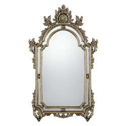 Sofia Mirror in Gold Finish - Savoy House 4-FD093-6-218