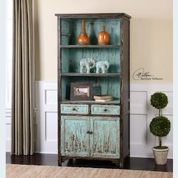 Dunixi Distressed Bookcase