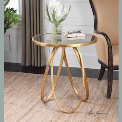 Montrez Gold Accent Table - 248913