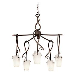 5 Light  Small Chandelier