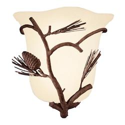 Ponderosa Ponderosa 1 Light Wall Sconce