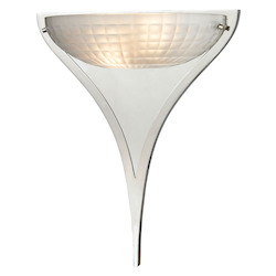 Sculptive 2 Light Sconce In Polished Chrome - 287006