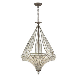Jausten 5 Light Chandelier In Antique Bronze - 287022