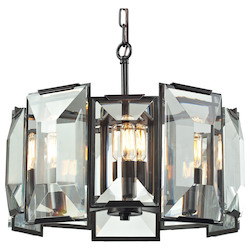 Garrett 5 Light Pendant In Oil Rubbed Bronze - 287064