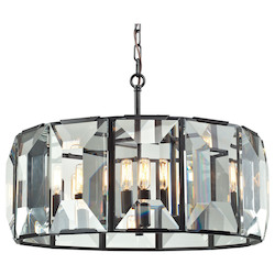 Garrett 6 Light Pendant In Oil Rubbed Bronze - 287065