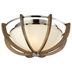 Janette 3 Light Sconce In Polished Nickel - 287095