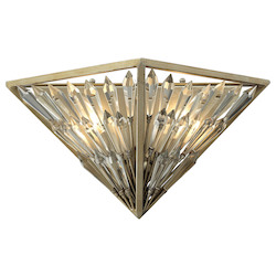 Viva Natura 2 Light Sconce In Aged Silver - 287122