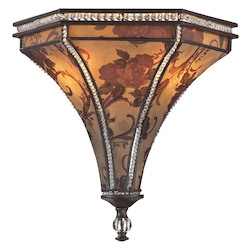 Mica 2 Light Sconce In Weathered Bronze - 287272