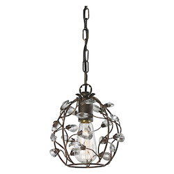 Sagemore 1 Light Pendant In Bronze Rust - 287340