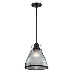Halophane 1 Light Pendant In Oil Rubbed Bronze - 287367