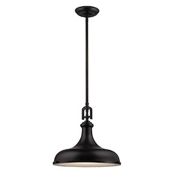 Rutherford 1 Light Pendant In Oil Rubbed Bronze - 287404