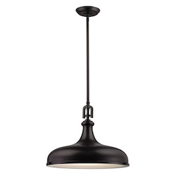 Rutherford 1 Light Pendant In Oil Rubbed Bronze - 287409