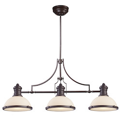 3 Light Island In Oiled Bronze - 287446