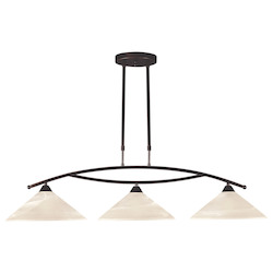 3 Light Island In Oil Rubbed Bronze - 287458