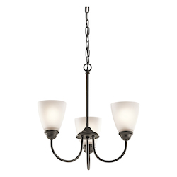 Mini Chandelier 3Lt